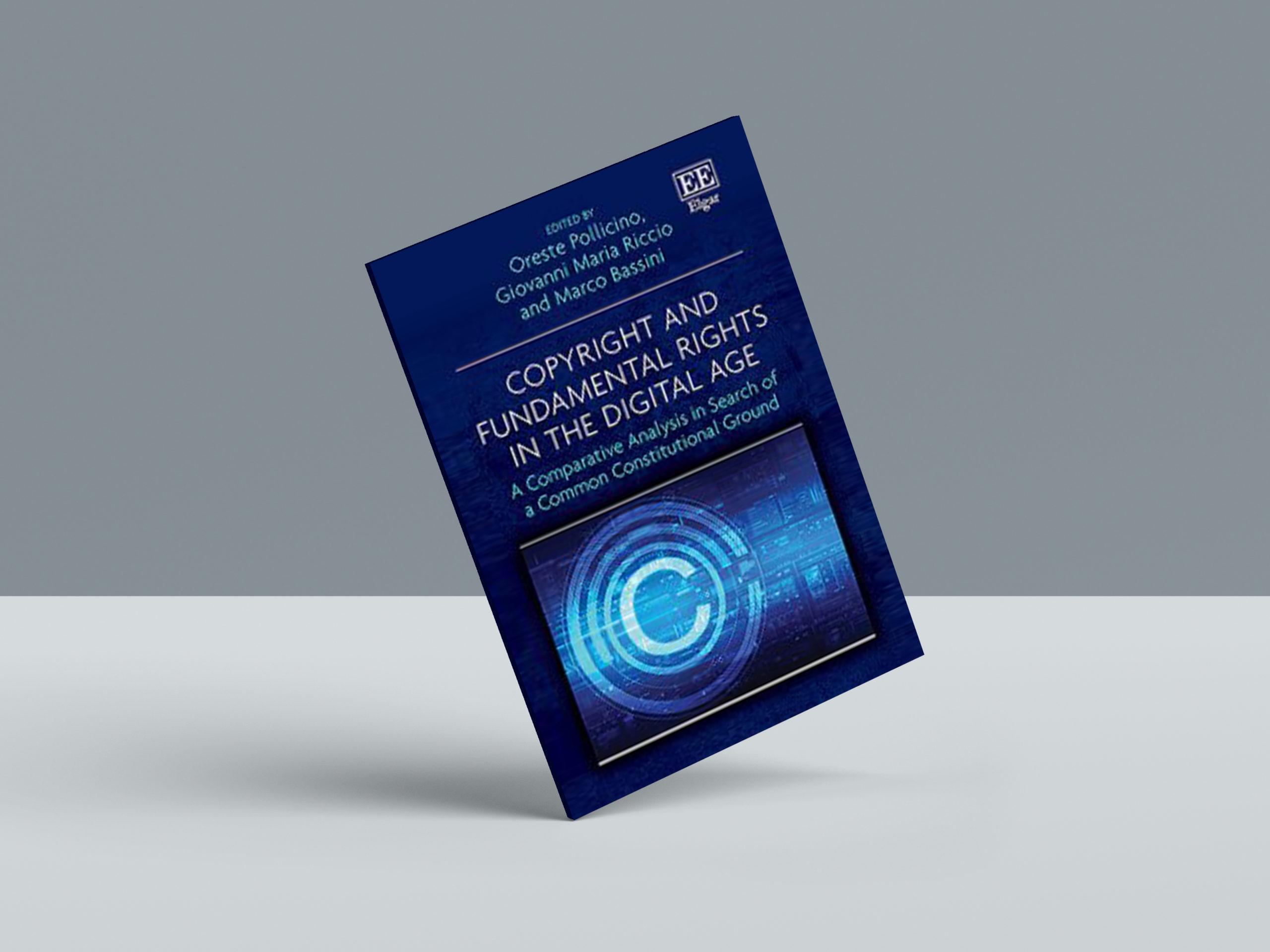 """""""Copyright and Fundamental Rights in the Digital Age"""", Giovanni Maria Riccio tra i curatori del volume"""